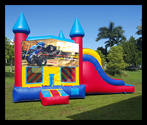 Bounce House and Slide $165.00