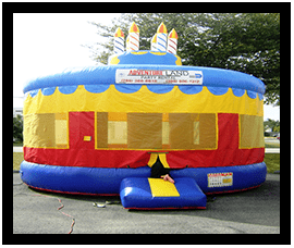 Cake Bounce House $165..00