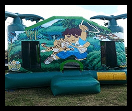 Diego Bounce house 13x13 $100.00