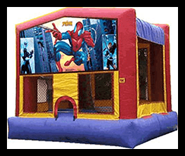 Spider Man - Bounce House 13x13 $90.00