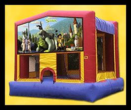 Shrek - Bounce House 13x13 $90.00