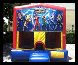 Power Rangers - Bounce House 13x13 $90.00