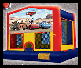 Cars - Bounce House 13x13 $90.00