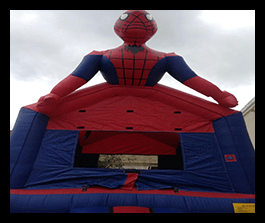 Spider Man - Bounce House 13x13 $100.00
