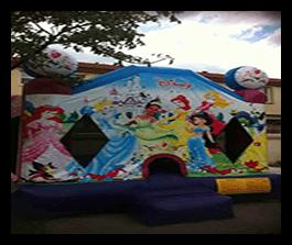 Princesses - Bounce House 13x13 $100.00