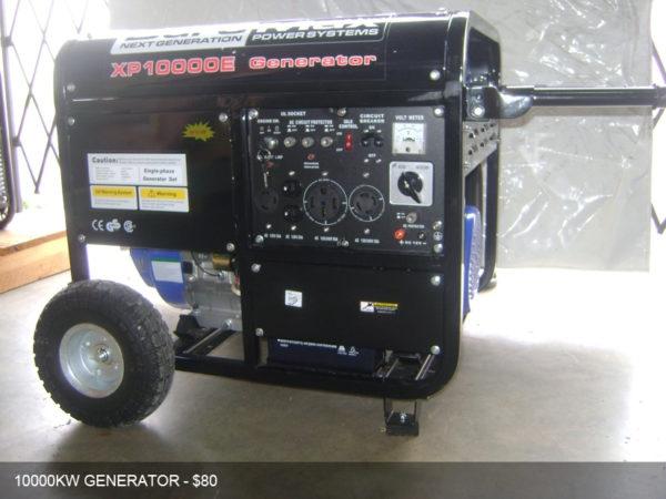 Generator rentals in Miami