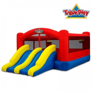triple play bounce house