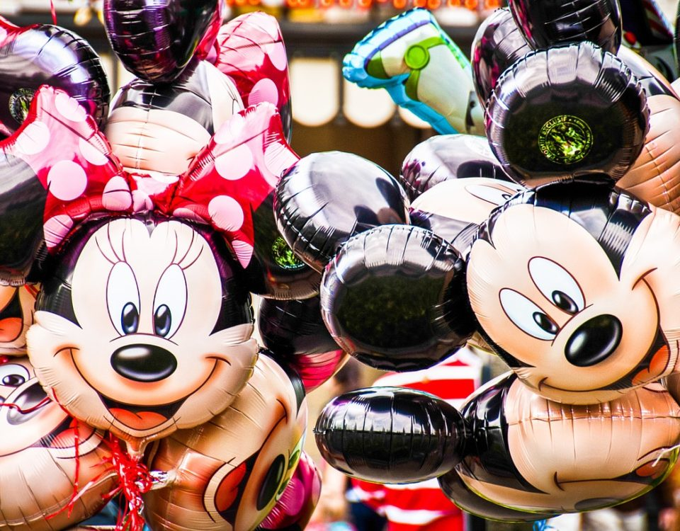 Mickey and Minnie Mouse Balloons