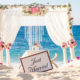 Beach tropical wedding