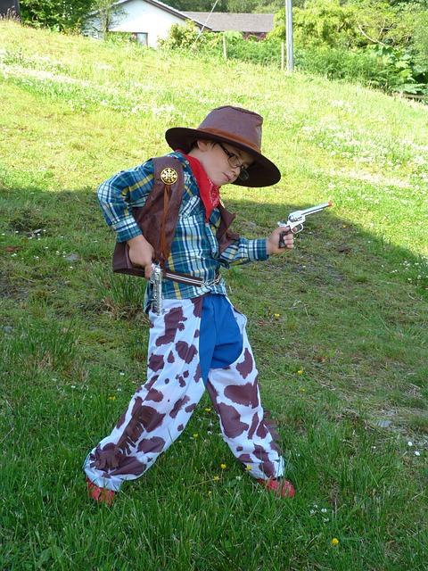 Kid cowboy costume