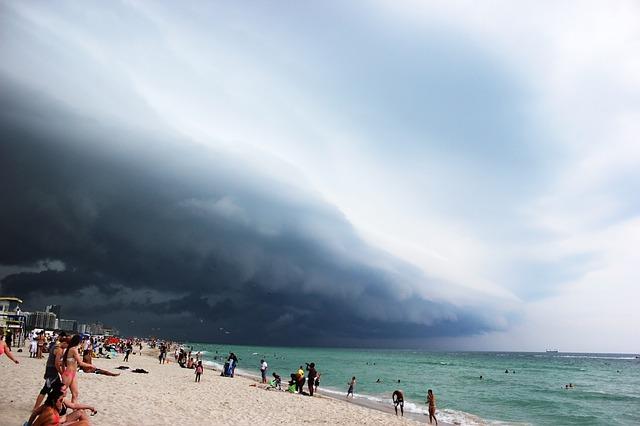 Miami Beach bad weather