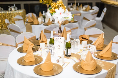 Event rental items-linens