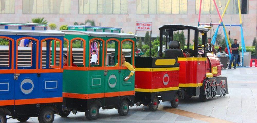 trackless train rentals Miami