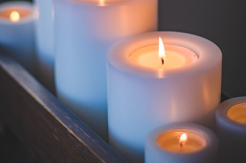 fresh scented candles